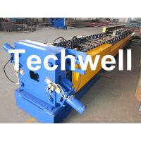 """Best 3"""" * 4"""" Rectangular Rainspout Roll Forming Machine for Rainwater Downpipe, Water Pipe wholesale"""