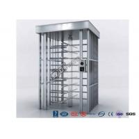 Cheap Deluxe Automatic Full height Turnstile  Pedestrian System Parking Facilities Rotating Gates for sale