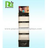 China Cosmetics Custom Cardboard Display Stands Environmentally Friendly on sale
