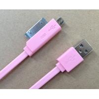Best Digital Mini 2 In 1 HTC Micro USB Cable Sync Data For IPhone 4S And Blackberry wholesale