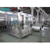 Cheap SUS304 Glass Bottle Carbonated Beverage Filling Machine With 250ML And Crown Cap for sale