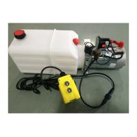 Best DC 24V 1600W Motor Horizontal Single Acting  Mini Hydraulic Power Packs for Dump Trailer wholesale