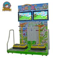 Best Jumping Island Type Coin Operated Amusement Machines Colorful Fluorescent Light wholesale