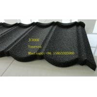 Best Stone Coated Metal Roof Tile size 1300*420mm Thickness 0.45mm Roman Tile JC109 Green Black wholesale