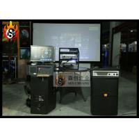 Cheap Impressing 6D Digital Cinema Equipment with 5.1 Channel Audio System and 3D Glasses for sale