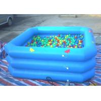 Best Eco Friendly Inflatable Swimming Pool Triple Tube Long Lifetime UL Approved wholesale