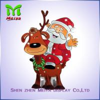 Best Christmas decorations cardboard Christmas tree , corrugated standee advertising wholesale