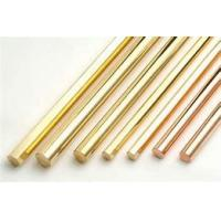Best Brass Solid Copper Bar Round Flat Square Military Industry Optional Size wholesale