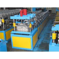 Quality No Press Step Type Ridge Cap Roll Forming Machine Guide Pillar Structure With Auto Stacker wholesale