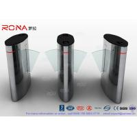 Cheap Flap Barrier Gate Automatic Barrier Wing Half Height Turnstiles Stainless Steel for sale