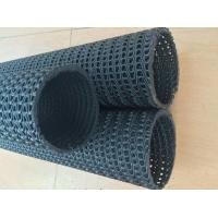 Best PP Anti - Corrosion Hdpe Geonet Dicth Pipe Black Color Good Flexibility wholesale