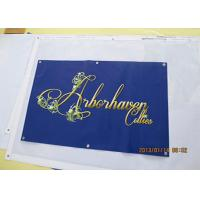 Cheap UV resistant Durable Outdoor Mesh Banners , Wind Vinyl Mesh Advertising Banners for sale