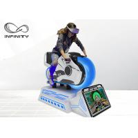 Best Arcade Dynamic 9D VR Chair , Fully Motion Driving Simulator Race Car Game Machine wholesale