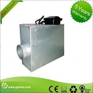 Best Square Restaurant Silent Inline Fan , Inline Bathroom Exhaust Fan Forward Curved wholesale