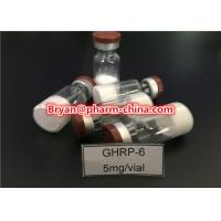 Best 98% Purity Pharmaceutical Raw Materials Ghrp-6 Growth Hormone Polypeptide Lyophilized Raw Powder wholesale