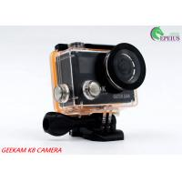 Buy cheap Compact 2 Inch Dual Screen 4k Waterproof Action Video Camera K8 360VR 170 Degree from wholesalers