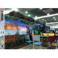 Cheap Stimulating Thriller 6D Movie Theater With Lightning / Rain Digital Special for sale