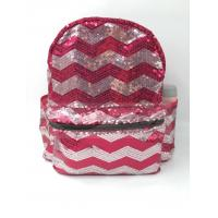 Best Sequin Polyester Laptop Bag , Sequin School Bag , Fashion Backpack wholesale