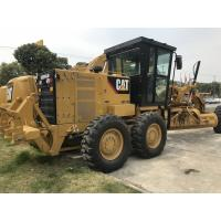 Best Yellow & Black Caterpillar 140k Used Motor Grader 190hp With Catc7 Engine Model wholesale