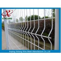 Cheap Waterproof Galvanized Wire Fence Panels , Wire Mesh Security Fencing for sale