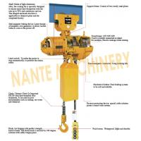 Best Compact  0.5 ton 2 Ton Electric Hoist  For Crane / Travelling Type / Fixed Type wholesale