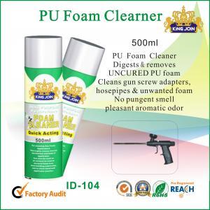 Best Waterproof 500ml Polyurethane Foam Cleaner Aromatic Odor For Car Windscreen wholesale