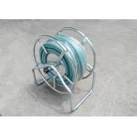 China Galvanized Commercial Water Hose Reel Garden Wall / Floor Mount Multi Purpose on sale