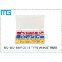 Best 65pcs splice type Insulated heart shrink Terminal Assortment Kit Connector , Electrical Crimp Connector Kit wholesale