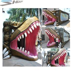 Best Amusement Park Dinosaur Pneumatic Surround 7.1 Audio 5D Theater System wholesale