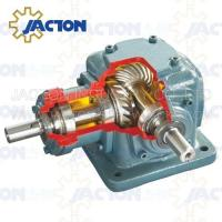 China JT85 Spiral Bevel Gearbox Right Angle 85MM 3-2/5 Inch Drive Shafts Transmission Ratios 1:1 on sale