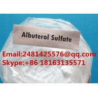Cheap Safe Raw Steroid Powders Albuterol / Salbutamol Sulfate CAS 51022-70-9 for sale
