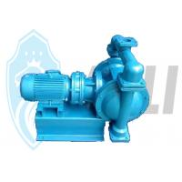 Best Food Field Alumium Double Diaphragm Pump Electric Operated No Leakage wholesale