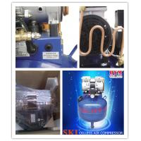 Cheap K0010 SKI dental one for one silence oil-free air compressor (32L) CE for sale