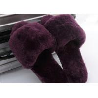 Best Lamb Fur Fuzzy Sheepskin House Slippers Winter Indoor For Keeping Warm wholesale