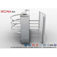 Best DC 24V Brush Motor Waist High Turnstile , Automatic Systems Turnstiles CE Approved wholesale