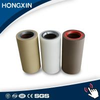 Best Shore A 55, Shore A 60 white color metal core rubber silicone roller wholesale
