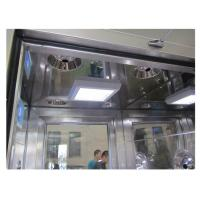 Cheap Portable Aerospace Cleanroom Air Shower , Carbon Steel Class 1000 Clean Room for sale