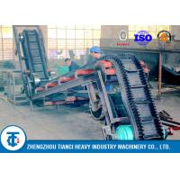 Cheap Heavy Duty Industrial Large Angle Sidewall Conveyor Belt Rubber Corrugated Type for sale