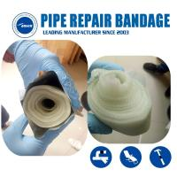 Best Armored Cast Emergency gas and water pipe leak Crack repair Bandage water activated fiberglass tape wholesale