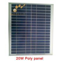 Buy cheap Poly Crystalline 20W 18V Solar Panel from wholesalers