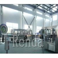 Soda Water / Carbonated Drink Filling Machine Automatic High Capacity 1000BPH