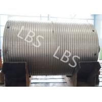 Best High Strength Steel Integral Type Wire Rope Winch Drum For Crane Winch wholesale