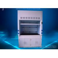 Best Customized Duct Materials Recirculating Fume Hood , 1300mm Max Opening Lab Exhaust Hood wholesale