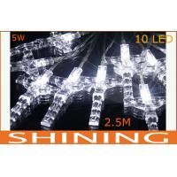 China White High Bright Outdoor LED String Light Battery Operated For Exterior on sale