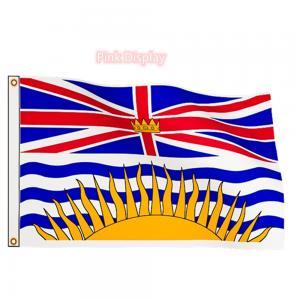 Best Digital Printing 76x148cm Canadian Provincial Flag wholesale