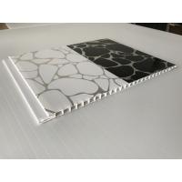 Cheap Shinning White / Black Decorative PVC Panels Ceiling Indoor 2.35 - 3kg/Sqm for sale