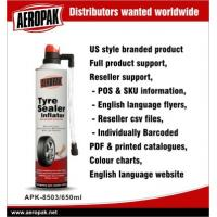 Best Non - Toxic 600ml Emergency Tyre Repair Inflator For Rubber Bike , Motorcycle wholesale
