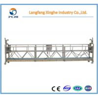 Buy cheap High rise building cleaning suspended scaffolding / electric hoist gondola from wholesalers