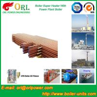 Best Oil Fired Boiler Super Heater , Platen Superheater In Thermal Power Plant wholesale