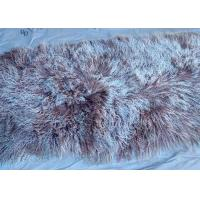 Best Natural Curly Lamb fur pelt Mongolian Sheepskin Hides Long lambskin Floor Rug wholesale